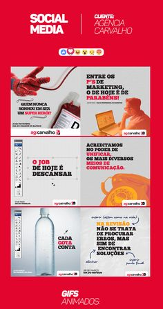 Social Media - Agência Carvalho on Behance
