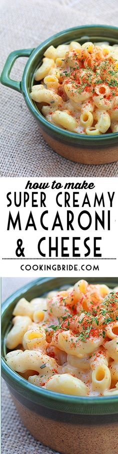 Creamy macaroni and cheese has a luxurious sauce made of smoked cheddar and whole milk. It's the tastiest macaroni and cheese you will ever make.