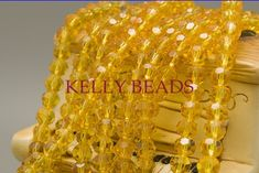 US $4.97 Free Shipping 70Pcs Ball Faceted Glass Crystal Spacer Beads Charms 8mm Transparent Yellow Bead For Jewelry Making Craft DIY #Free #Shipping #70Pcs #Ball #Faceted #Glass #Crystal #Spacer #Beads #Charms #Transparent #Yellow #Bead #Jewelry #Making #Craft