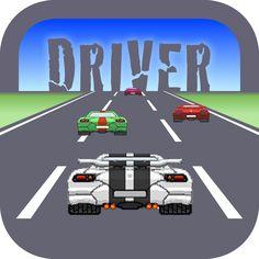 Infinite Road Driver - 16 Bits iOS: https://itunes.apple.com/app/id914798457 Google Play: https://play.google.com/store/apps/details?id=com.aplenocio.Driver