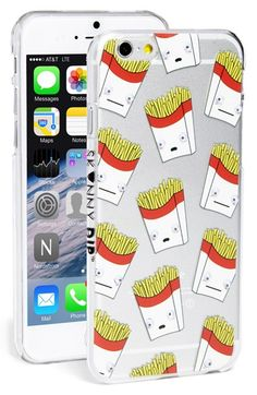 Free shipping and returns on SKINNY DIP Skinnydip 'French Fries' Googly Eyes iPhone 6 & 6s Case at Nordstrom.com. Tiny little eyes set in whimsical French-fry boxes watch your every move while the transparent hard-shell case keeps your iPhone safe from scuffs and scratches.