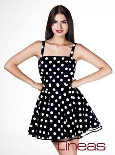 Vestido, Modelo 19482. Precio $340 MXN #Lineas #outfit #moda #tendencias #2014 #ropa #prendas #estilo #primavera #outfit #vestido