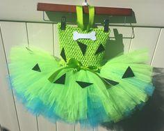 Pebbles Costume Flinstones girl costume Pebbles tutu dress