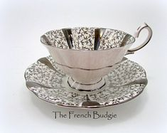 The French Budgie by TheFrenchBudgie on Etsy Us Cup, Earl Grey Tea, Queen Of England, Close Up Photos, Budgies, Cup And Saucer Set, Queen Anne, Tea Cups, Im Not Perfect