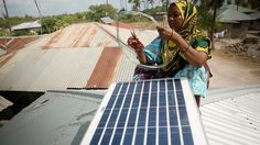 Hundreds of households on the Tanzanian island without access to the electrical grid are getting low cost solar power for the first time, from a group of local female engineers.