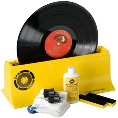 SPIN-CLEAN - STARTER KIT RECORD WASHER SYSTEM Mk2 SPIN CLEAN