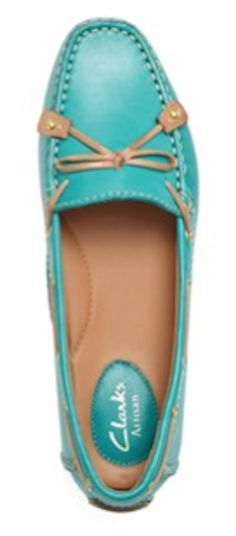 #mint leather loafer