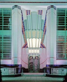 The Hoover Building on Western Avenue (A40) in Perivale, West London. Is an example of Art Deco architecture designed by Wallis, Gilbert and Partners.
