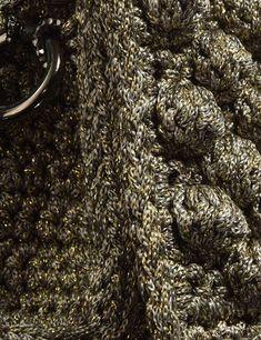 Matoohandmade Bubble crochet bag Crochet Bags, Bubbles, Crochet Purses, Crochet Clutch Bags, Crocheted Bags