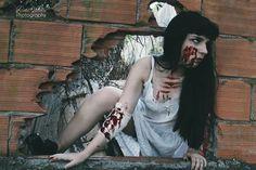 #Halloween #Photoshoot #scary #photo #ritavaleriophotography #Portugal  Model: Joana Lopes