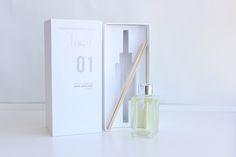 Rive-Gauche - Reed Diffuse Packaging Design. Designed by: Jidapha (Jida) Tiantongnukul, Australia.