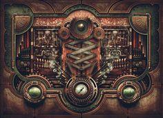 steampunk mechanics - Buscar con Google