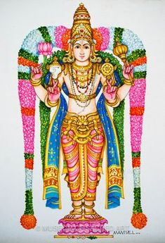 Manivelu A. | Forms of Devotion Temple Drawing, Om Art, Mural Art, Murals, Outline Drawings, Pencil Drawings, Lord Vishnu Wallpapers, Detailed Paintings, Lord Shiva Painting