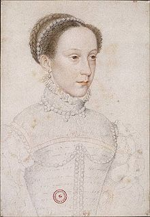 The infant Mary, Queen of Scots (shown here as an older girl) was the focus of the 'Rough Wooing'. Rough Wooing - Wikipedia, the free encyclopedia