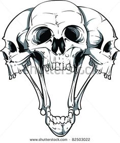 skull art - Google Search