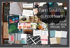 Painel semântico ou mood board. Link: https://ulalahmundo.wordpress.com/2015/06/01/painel-semantico-ou-mood-board/