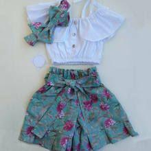 US Toddler Kids Baby Girl Clothes Sling Vest Tops+Flower Shorts Outfits Set Girls Summer Outfits, Dresses Kids Girl, Short Outfits, Kids Outfits, Baby Girl Dress Patterns, Baby Dress, Grunge Style, Soft Grunge, Shirts & Tops