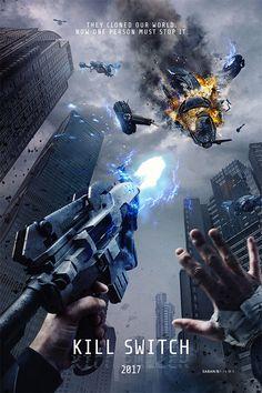 Saban Films publica un nuevo póster de Kill Switch, un nuevo título de ciencia ficción contada en primera persona (al igual que Hardcore Henry), por lo que todo lo veremos a través de los ojos del protagonista, papel que recae sobre el actor Dan Stevens (Legión).
