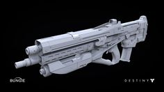 ArtStation - Destiny: Pulse Rifle 1A, Milton Cadogan