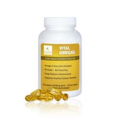 Vital Omegas supply you with the healthy fats that are integral to the Primal Blueprint eating plan in a convenient supplement form and from a source you can trust.