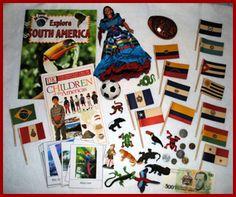 South America Continent box