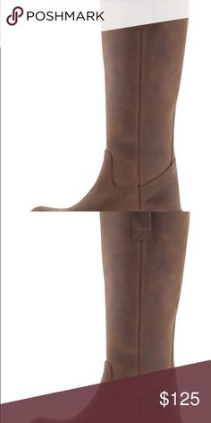 Steve Madden Natalee leather riding boots Leather - new in box - size 8 1/2 Steve Madden Shoes Heeled Boots