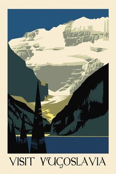 Vintage travel poster - reproduction