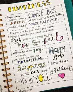 Happy Quotes to Help You Forget Your Worries – Viral Gossip Self Care Bullet Journal, Bullet Journal Quotes, Bullet Journal 2019, Bullet Journal Notebook, Bullet Journal Aesthetic, Book Journal, Bullet Journals, Happy Quotes, Life Quotes
