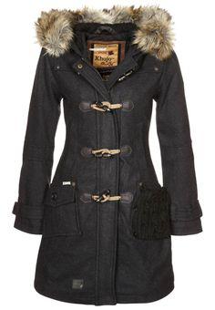 Manteau classique khujo SISSY gris
