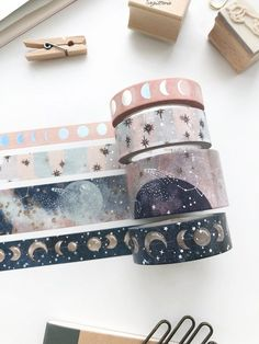 Your source for cute planner accessories, exclusive washi tapes, greeting cards, traveler's notebook, cute stationery & more. Shop party favors and gifts with us! Washi Tape Crafts, Washi Tape Set, Masking Tape, Washi Tape Planner, Washi Tape Notebook, Washi Tape Storage, Planner Stickers, Journal Stickers, Stickers Kawaii