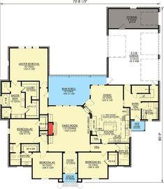 Fabulous Kitchen - 56304SM | Architectural Designs - House Plans