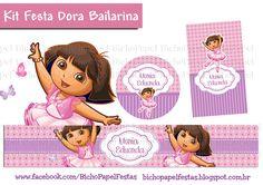 Kit Festa Dora Bailarina