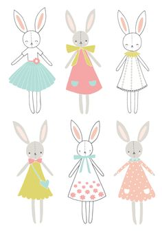 Bunny themed baby room decor collection for French company Lilipinso. Products include posters, wall stickers, height chart and wall paper. Available to purchase here… Murals For Kids, Art For Kids, Kitten Drawing, Doodle Lettering, Bunny Art, Hoppy Easter, Felt Fabric, Cute Illustration, Cartoon Wallpaper