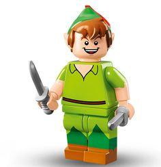 Lego Minifigure Serie Disney, Peter Pan
