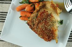 Smoked paprika pairs perfectly with sweet roasted chicken, carrots and garlic in this rich one-dish Paleo meal.