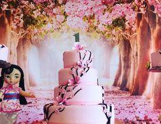 "Mulan/Cherry Blossom/ Chinese / Birthday ""Mulan Cherry Blossom Forest"" | Catch My Party"