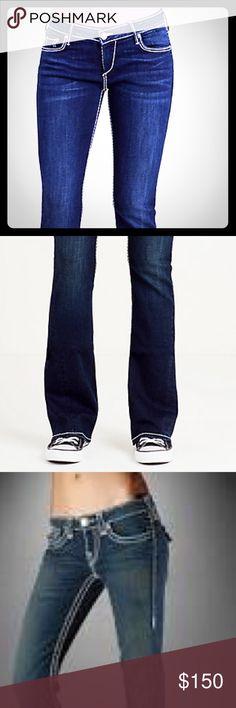 """TRUE RELIGION Jeans SIZE 28 -  """"JOEY"""" Women's women's """"Joey""""- TRUE RELIGION JEANS NWOT Size 28 perfect condition. Dark Denim True Religion Jeans Boyfriend"""