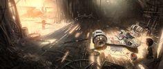 Barn Picture  (2d, sci-fi, spaceship)
