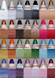 the ultimate swatches of our Jumbo Eye Pencils.