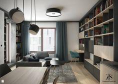 Mieszkanie w Warszawie - Salon - zdjęcie od KamińskaStańczak - Salon - KamińskaStańczak