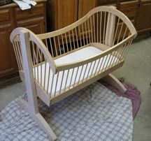 Sara's Cradle: another Tutorial from Bink's Woodworking