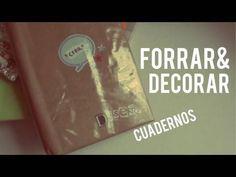 Tips para forrar/decorar tus cuadernos // Regreso a clases