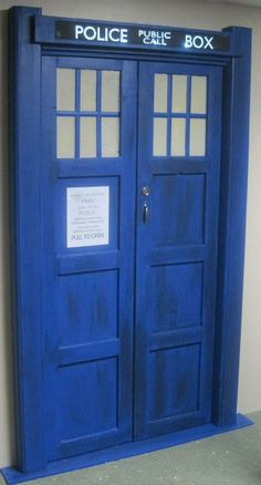 Doctor Who Door...if I ever have my own house again