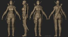 Ghada cinematic character  the second character from my personal project, also based on the concept I made in 2013 done in Zbrush, 3Ds Max, Mari, Photoshop, Vray