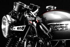"""Racing Cafè: Triumph Bonneville """"CR"""" by Dime City Cycles"""