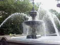 City Hall Park: the croton fountain