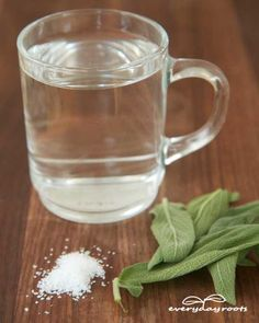 Natural sore throat remedies, website is amazing! all items usually found in a kitchen