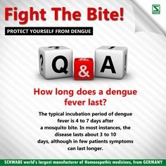 Protect yourself and your family from #Dengue‬ : Here is a information on what are the long term effects of dengue fever? ‪#DengueEffect‬