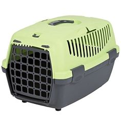 Trixie Capri I Hard Shell Pet Carrier in Dark Green/pastel Green >>> Tried it! Love it! Click the image. (This is an amazon affiliate link. I may earn commission from it)