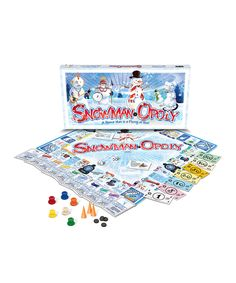 Look what I found on #zulily! Snowman-Opoly Board Game by Late for the Sky #zulilyfinds